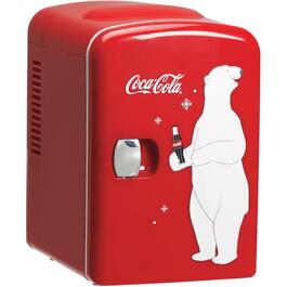 6 Can Coca-Cola Compact Fridge thumb
