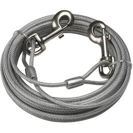 30' Heavy Duty Tie-Out Dog Cable, for Dogs Up to 180 lbs thumb