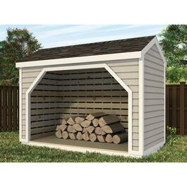 12' x 6' x 8' Wood Storage Gable Shed Package, with Decorative Plywood thumb