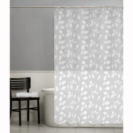 "70"" x 72"" Just Leaves Peva Shower Curtain thumb"