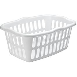 "17"" x 24"" White Laundry Basket thumb"