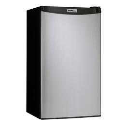 3.2 cu.ft. Compact Black/Stainless Steel Energy Star Fridge thumb