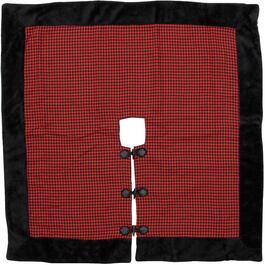 "48"" Square Houndstooth Tree Skirt thumb"