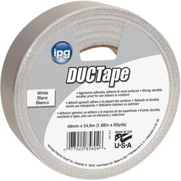 48mm x 54.8M White Cloth Duct Tape thumb