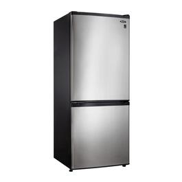 9.2 cu. ft. Black/Stainless Steel Refrigerator, with Bottom Mount Freezer thumb