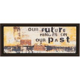 "12-1/4"" x 27"" Our Future Framed Wall Plaque thumb"
