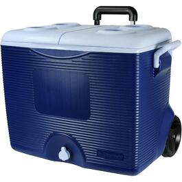 45 Quart Wheeled Modern Blue Victory Cooler thumb