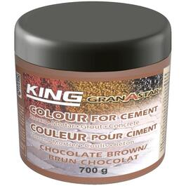 700g Chocolate Brown Powder Cement Colourant thumb