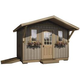 12' x 8' Two Door Gable Shed Package, with All Options thumb