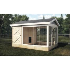 8' x 12' Basic Dog Kennel Package thumb