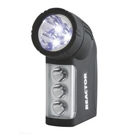 6 LED ABS Body Flashlight, with 3 AAA Batteries thumb