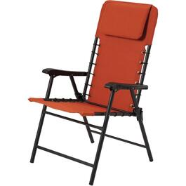 Potters Clay Orange Folding Bungee Chair thumb