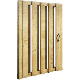 5' Pressure Treated Board On Board Gate Fence Package thumb