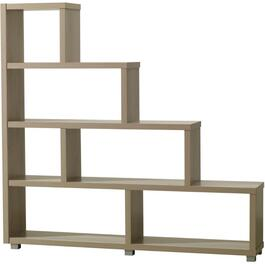 "4 Tier 64"" x 60.5"" Maple Pandy Bookcase thumb"