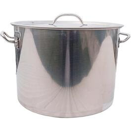 80 Quart Stainless Steel Fryer Pot, with Lid thumb