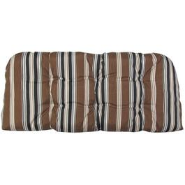 3 Piece Driftwood Stripe Wicker Cushion Set thumb