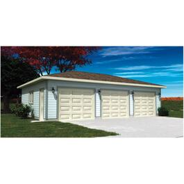 36' x 24' Cottage Garage Package, with Complete Exterior Option thumb