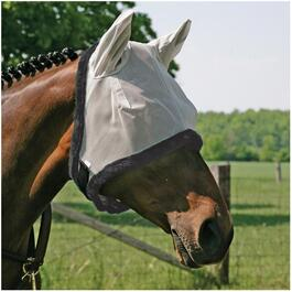 Horse Fly Mask, with Ears and Assorted Colours thumb