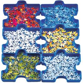 6 Pack Sort and Go Puzzle Trays thumb