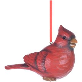 "5"" Resin Red Cardinal Ornament, Assorted Facial Expressions thumb"