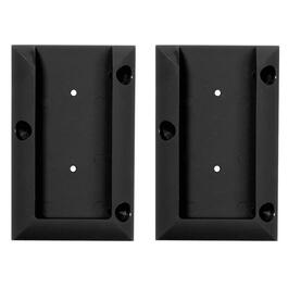 2 Pack Black 2 x 4 Railing Connectors thumb