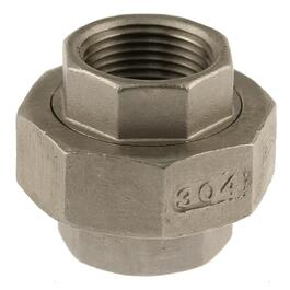 "3/4"" Stainless Steel Union thumb"