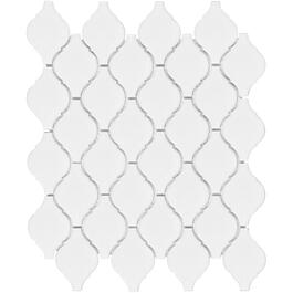 "10 Pack 8 Sq. Ft. 12""x 12"" White Beacon Mosaic Tiles thumb"