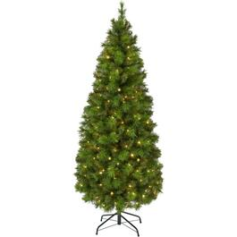 5' 150 Colour Changing LED Scotch Pine Christmas Tree thumb