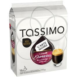 14 Pack Carte Noire Dark Roast Long Espresso Coffee T-Discs thumb