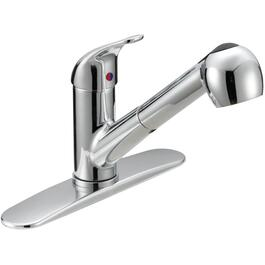 Chrome Pullout Faucet Deck thumb