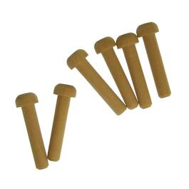 "6 Pack 1/4"" Wooden Axle Pins thumb"