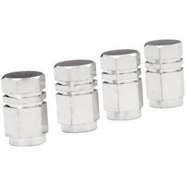 4 Pack Chrome Tire Valve Caps thumb