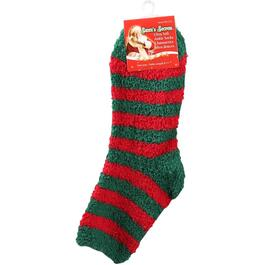 Size 9-11 Ladies Christmas Design Ankle Socks, Assorted Designs thumb