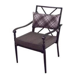 Bradford Dining Chair, with Cushion and Lumbar Pillow thumb
