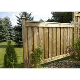 4' Cedar 1x6 Top & Bottom Fence Package thumb
