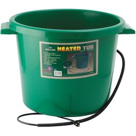 16 Gal Plastic Heated Bucket thumb