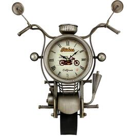 54cm x 43cm x 8cm Motorcycle Wall Clock thumb