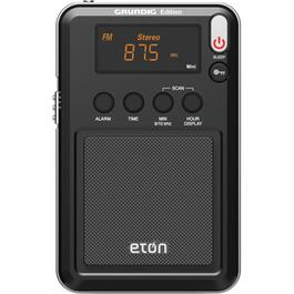 Eton Portable AM/FM Solar Weather Radio, with USB Cellphone