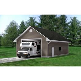 Drywall Option Package, for 26' x 38' x 8' RV Garage thumb