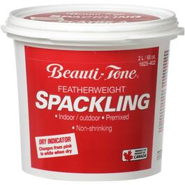 2L Spackling Wall Compound, with Pink to White Dry Indicator thumb