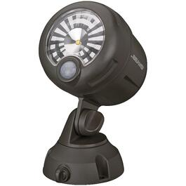 Battery Operated Brown 200 Lumen Motion Sensor LED Spotlight thumb