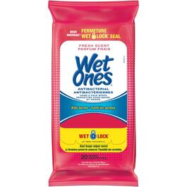 20 Pack Antibacterial Wet Wipes thumb