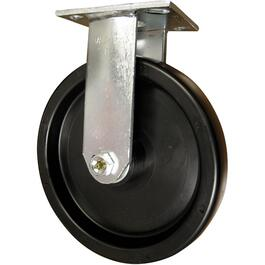 "8"" Polypropylene Wheel Industrial Swivel Plate Caster thumb"