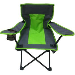 Green/Grey Kids Camping Chair thumb