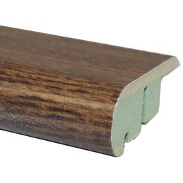 "2-1/8"" x 94"" Reclaimed Walnut Stair Nose Laminate Moulding thumb"