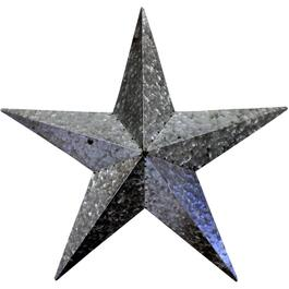 "24.5"" Galvanized Metal Wall Hanging Star thumb"