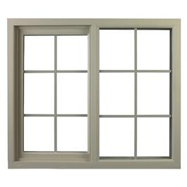 "40"" x 20"" Poly Vinyl Vista Slider Basement Window thumb"
