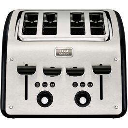 Maison 4 Slice Stainless Steel Toaster, with Extra Wide Slots thumb