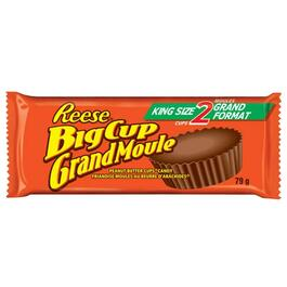 79g Reese Big Cup Peanut Butter Chocolate Bar thumb