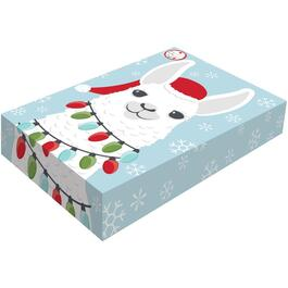 "2 Pack 16"" x 10"" x 3"" Folding Christmas Gift Boxes thumb"
